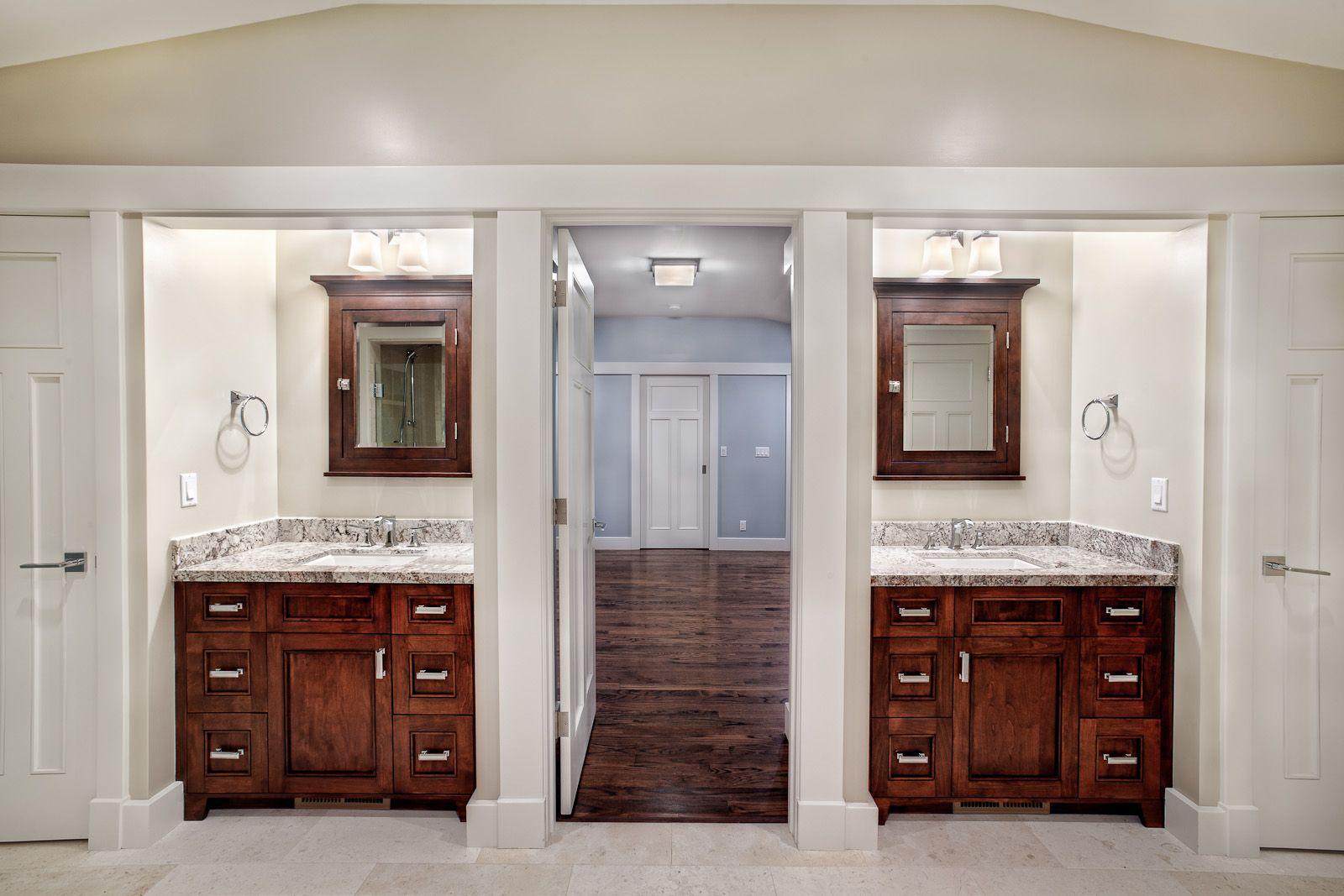 bathroom cabinets split double vanity bathroom griffin on custom bathroom vanity plans id=21758