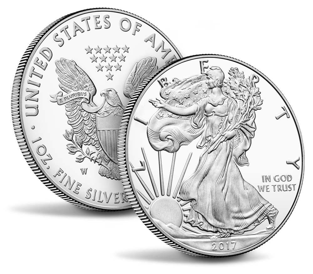 Us Mint Releases 2017 Proof Silver Eagles American Silver Eagle Silver Eagle Coins Eagle Coin
