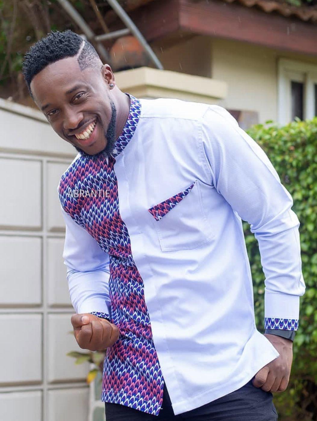 Abrantie | Chemise homme fashion, Tenue africaine pour ...