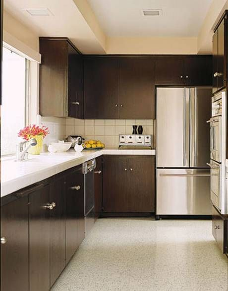 Terrazzo Floors Make This Kitchen Look Clean And Modern Kitchen Design Stylish Kitchen Beautiful Kitchens