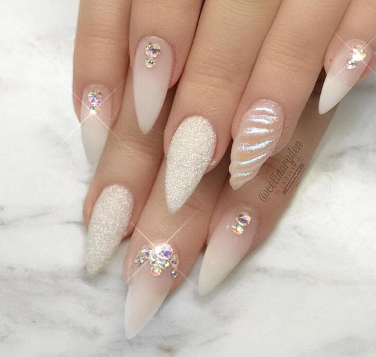 sooo cute unicorn nails pinterest n gel nagellack und n gel glitzer. Black Bedroom Furniture Sets. Home Design Ideas