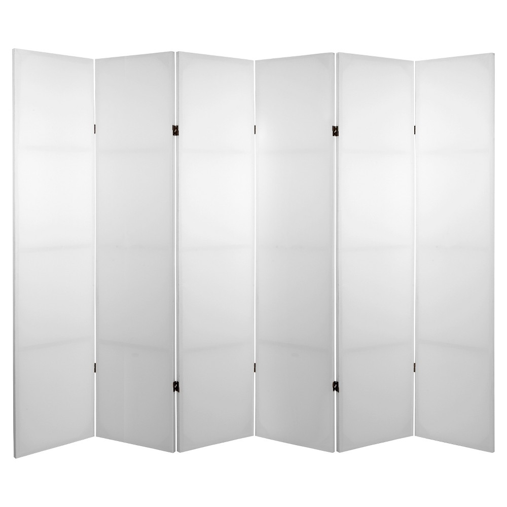 Do It Yourself Canvas Room Divider 6 Panel - Oriental Furniture