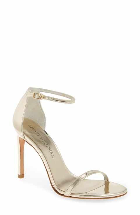 Womens Metallic Wedding Shoes