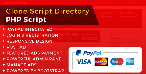 Php Clone Scripts Directory With Paypal Code Scripts And Plugins