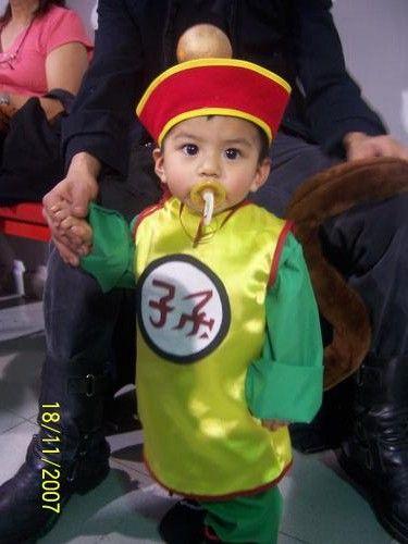 ad8783b63 Dragonball - Kid Gohan | Halloween | Baby cosplay, Cosplay, Cosplay boy