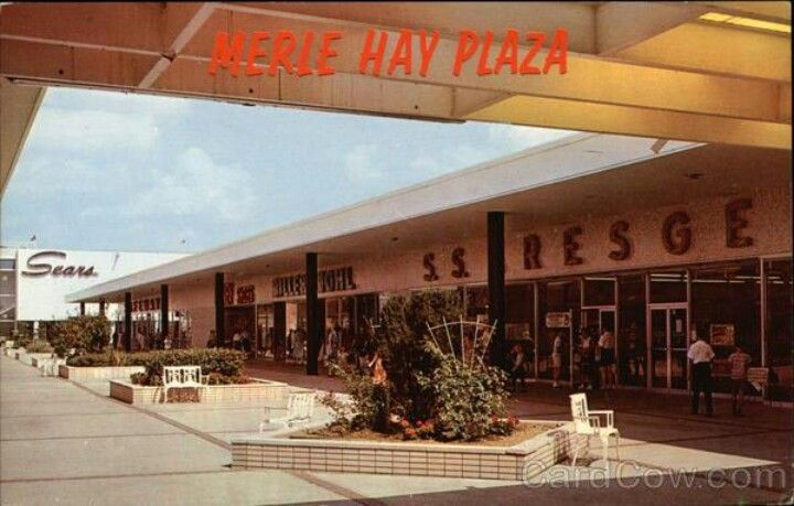 Des Moines Shopping >> Remember Our Merle Hay Plaza Shopping Center And Before