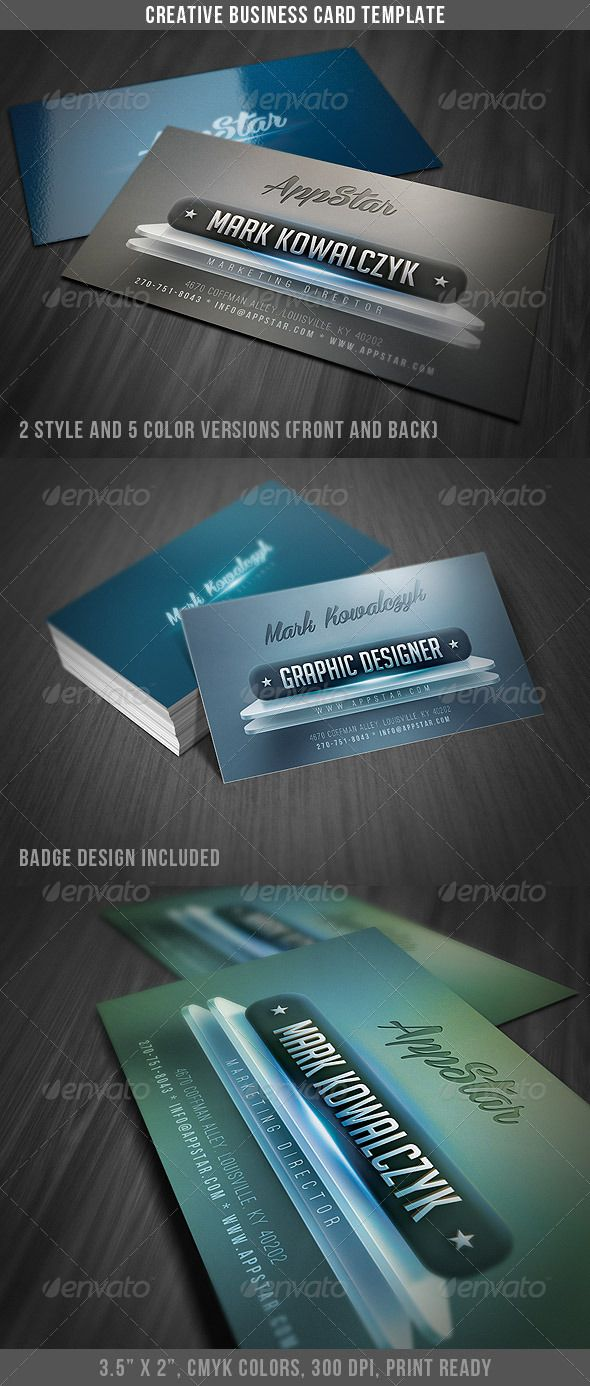 Creative modern business card business cards card templates and creative modern business card httpgraphicriveritemcreative modern business card 3529150refcruzine colourmoves