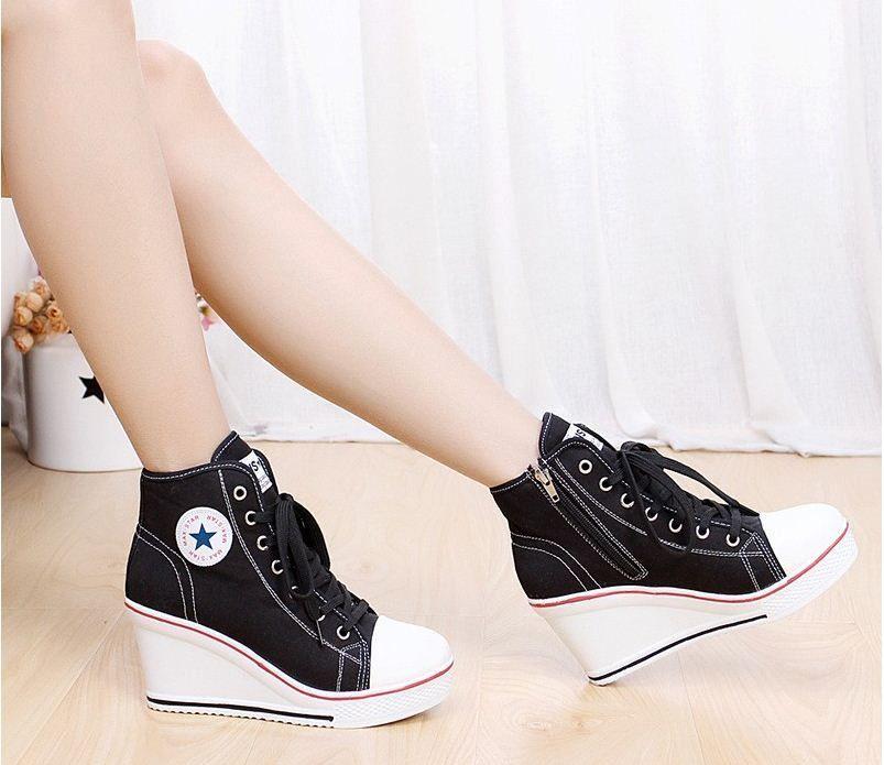 les talon chaussures de dentelle toile talon les haut | des chaussures | pinterest 2de70c