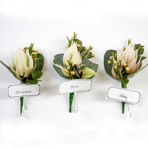 Australian Native Wedding Flowers Bouttoniere The Knot