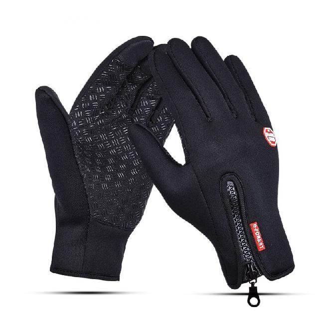 Bicycle Bike Waterproof Thermal Gloves Touchscreen Cycling Mittens Neoprene