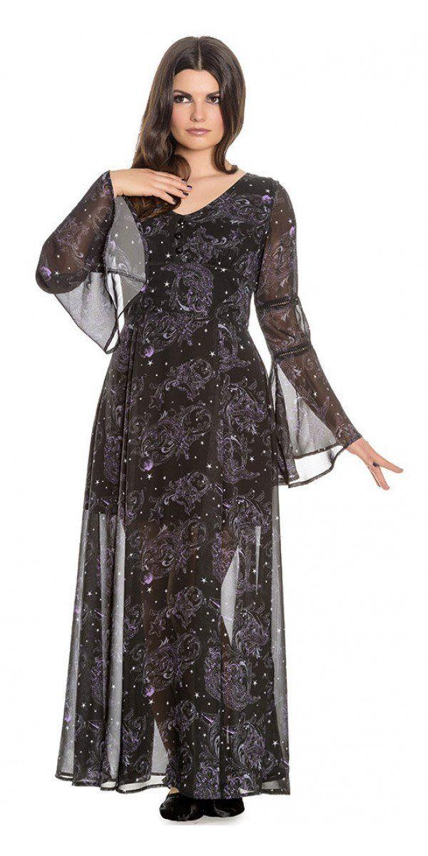 42fd6fd35e845e Be as foreboding as the ocean in this Dark Sea Maxi Dress. This sheer black  chiffon maxi dress has a scoop neck