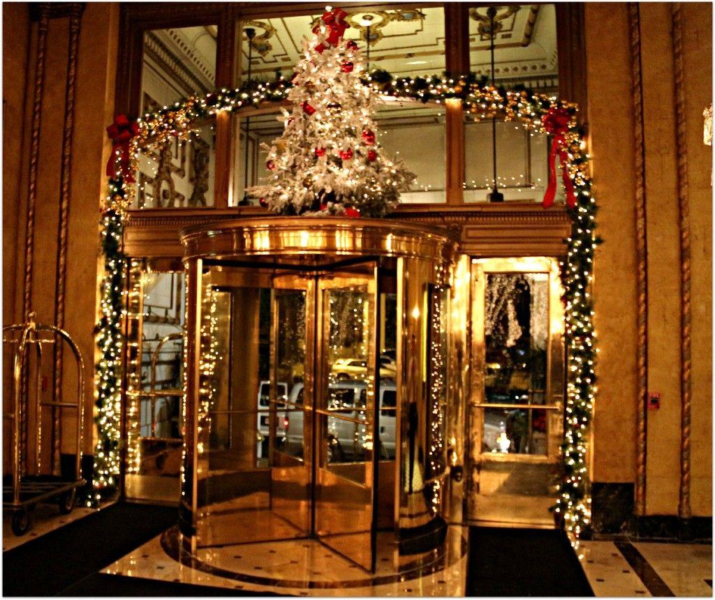 Roosevelt Hotel New Orleans Christmas Tea