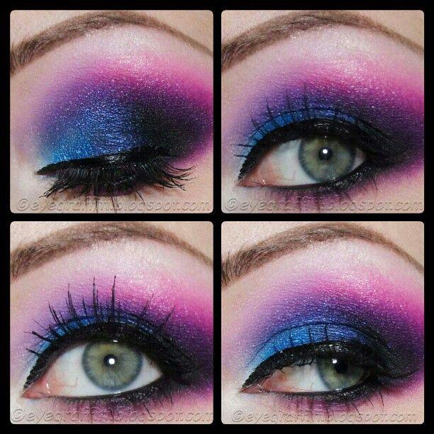 sugarpill eyeshadow tako poisonplum dollipop colourfuleyes lashes eyes