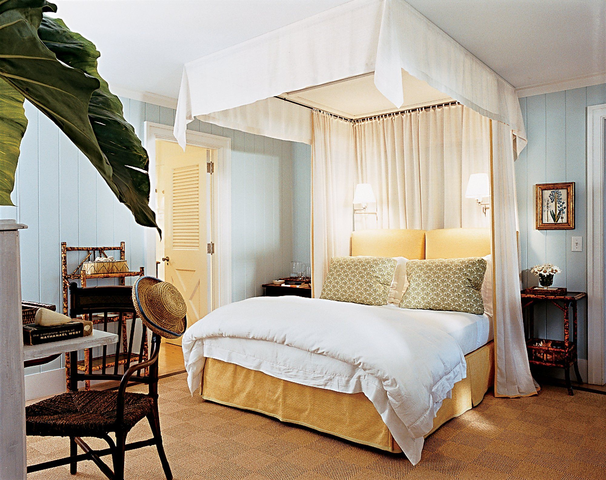In the master bedroom of Ashley Brittingham's Nantucket