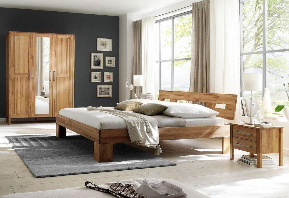 Home affaire, Schlafzimmer-Set (4-tlg), »Modesty I« mit 3-türigem