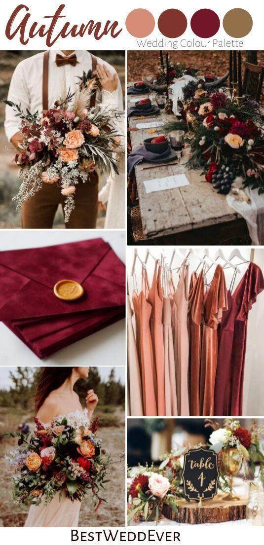 Burgundy Wedding invitation Set Marsala Wedding invitation | Etsy
