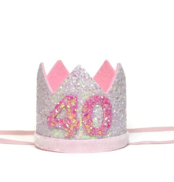 Adult Birthday Crown Hat