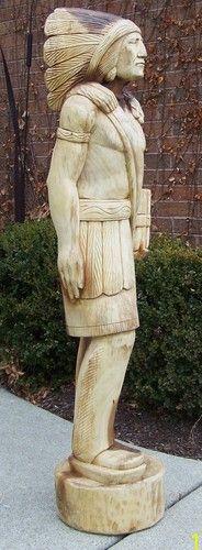 Kalijah wooden indian