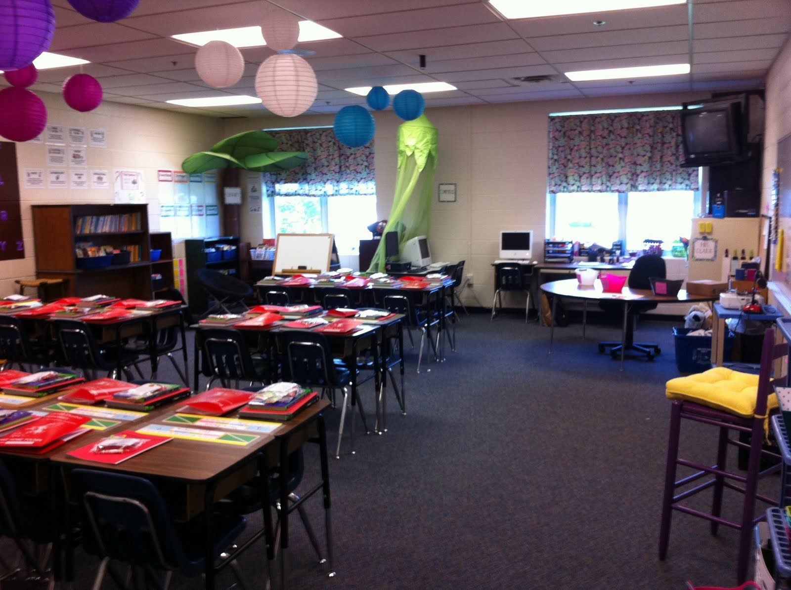 4th Grade Classroom Set Up