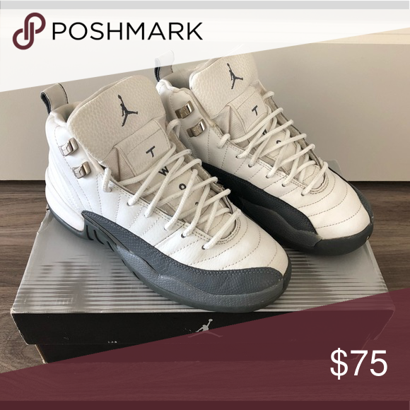 best service a2765 64770 Jordan Retro 12 - White/Flint Grey • Jordan Retro 12 - White ...