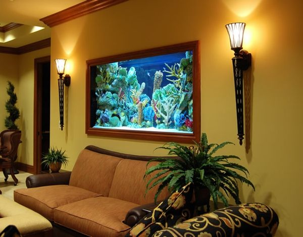 L\' aquarium meuble dans la déco - Archzine.fr | Aquariums