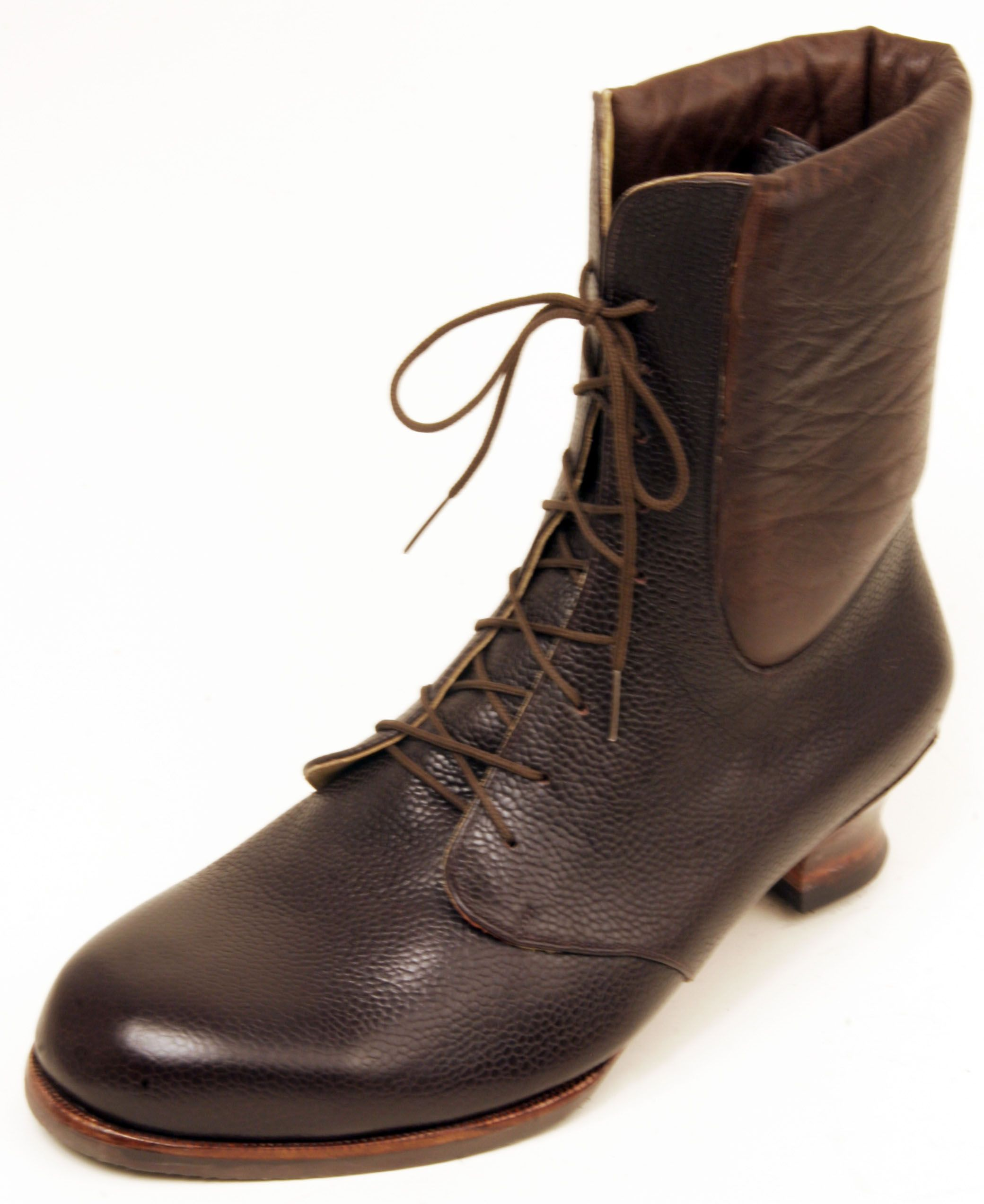 Womens Laced Ankle Boots | Bespoke shoemaker, made to measure shoes and boots