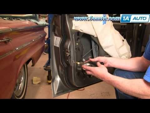 How To Install Replace Power Door Lock Actuator Mercury Grand Marquis 92 03 1aauto Com Youtube Grand Marquis Door Locks Actuator