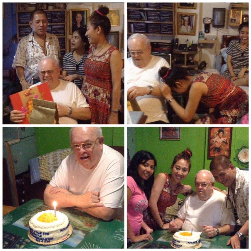 My Fathers Birthday January 2015 ( Happy Birthday Pa ❤️ILOVEYOU ) - Aladino Nibley