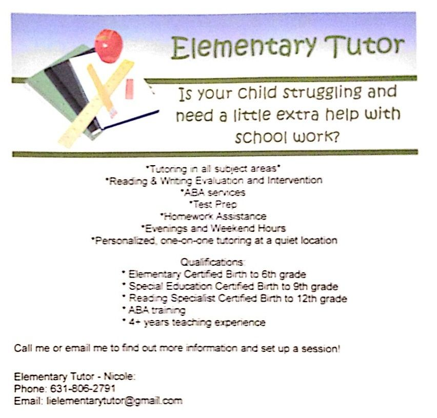 Tutoring Services Tutoring business, Teaching life