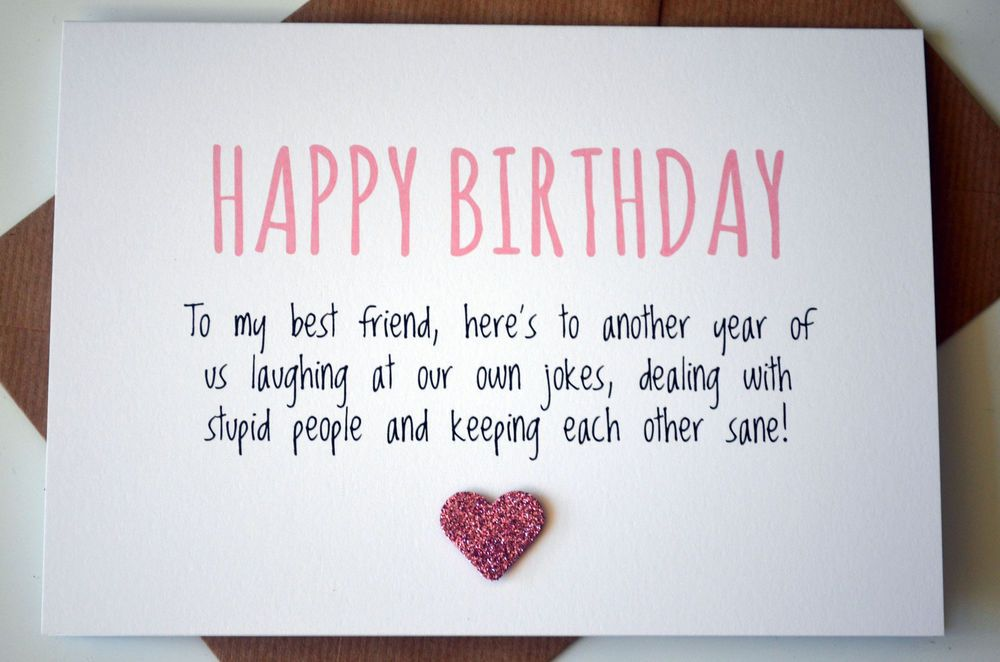 Image Result For Birthday Cards Best Friends