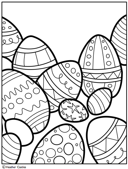 Icolor Easter Eggs Icolor Easter Eggs Free Easter Coloring
