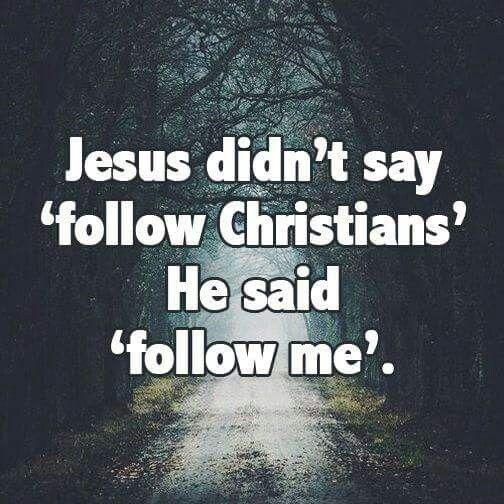 Kuvahaun tulos haulle follow me, not christians