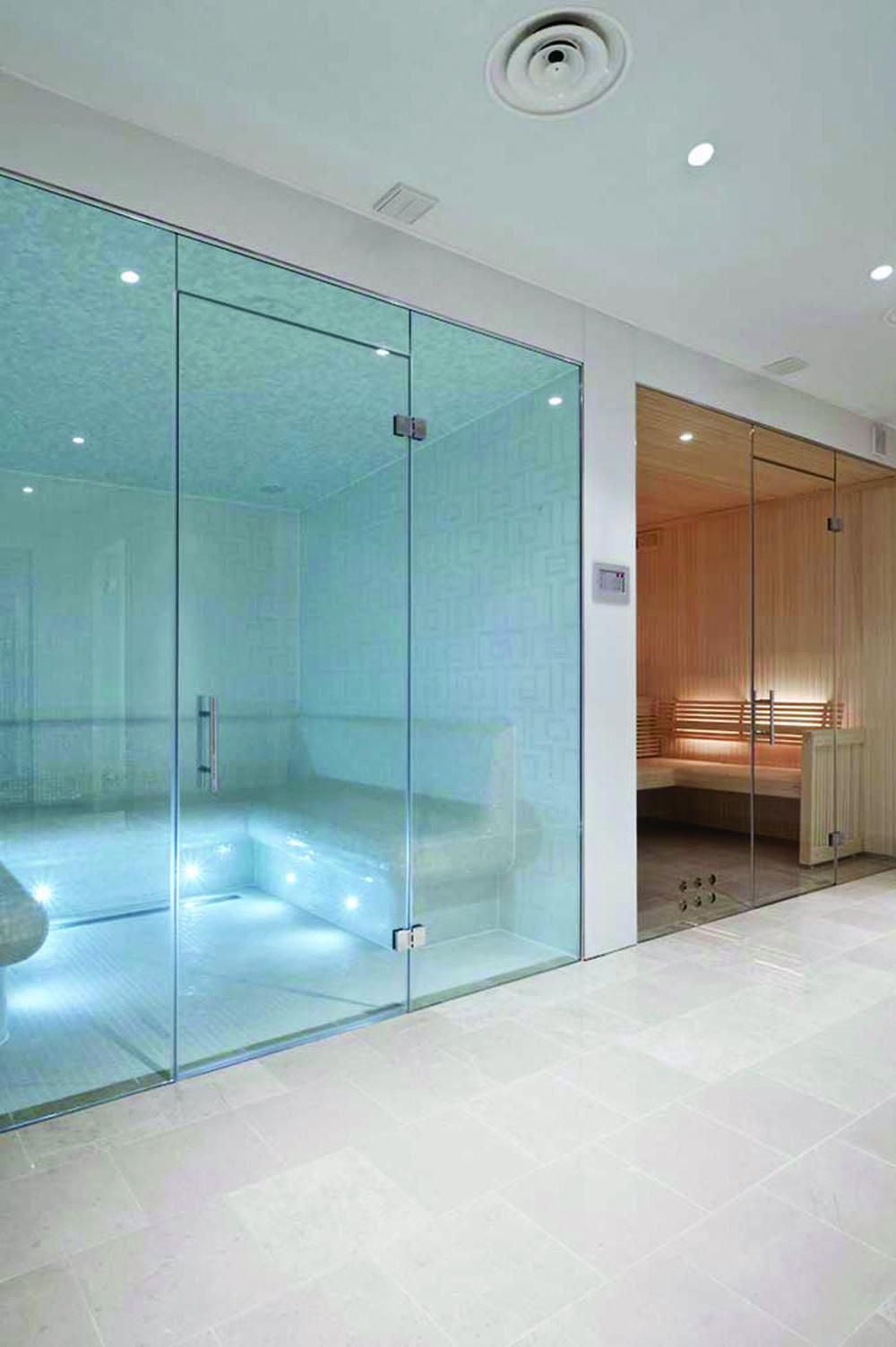 Frameless Glass Steam Rooms Sauna Screens Glasstrends