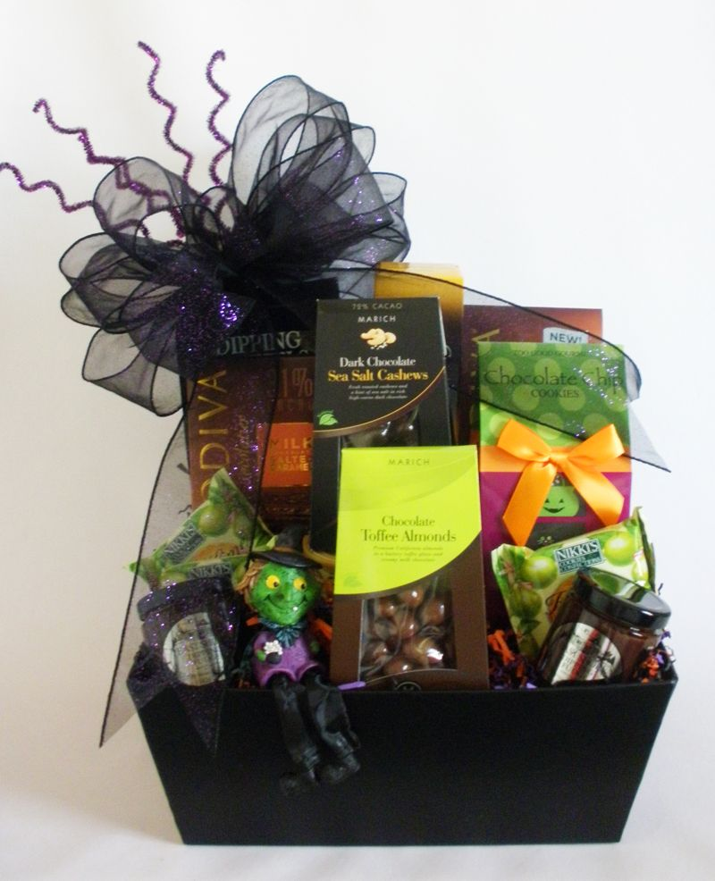 The Ghoulish Gourmet Halloween Gift Basket … | Halloween | Pinterest