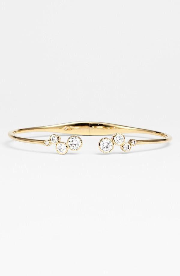 Nordstrom Nadri Cubic Zirconia Bezel Cuff bejeweled Pinterest