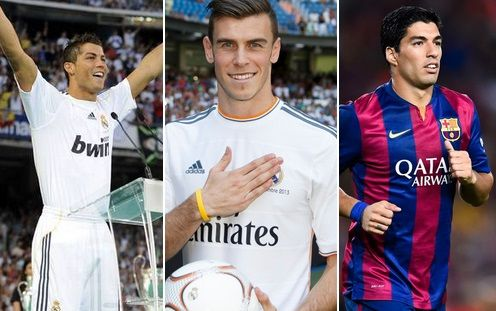 Repost 30 Most Expensive Football Player Transfers Of All Time