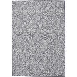 Photo of Palace – dark blue / beige carpet 160×230 rug Rugvista