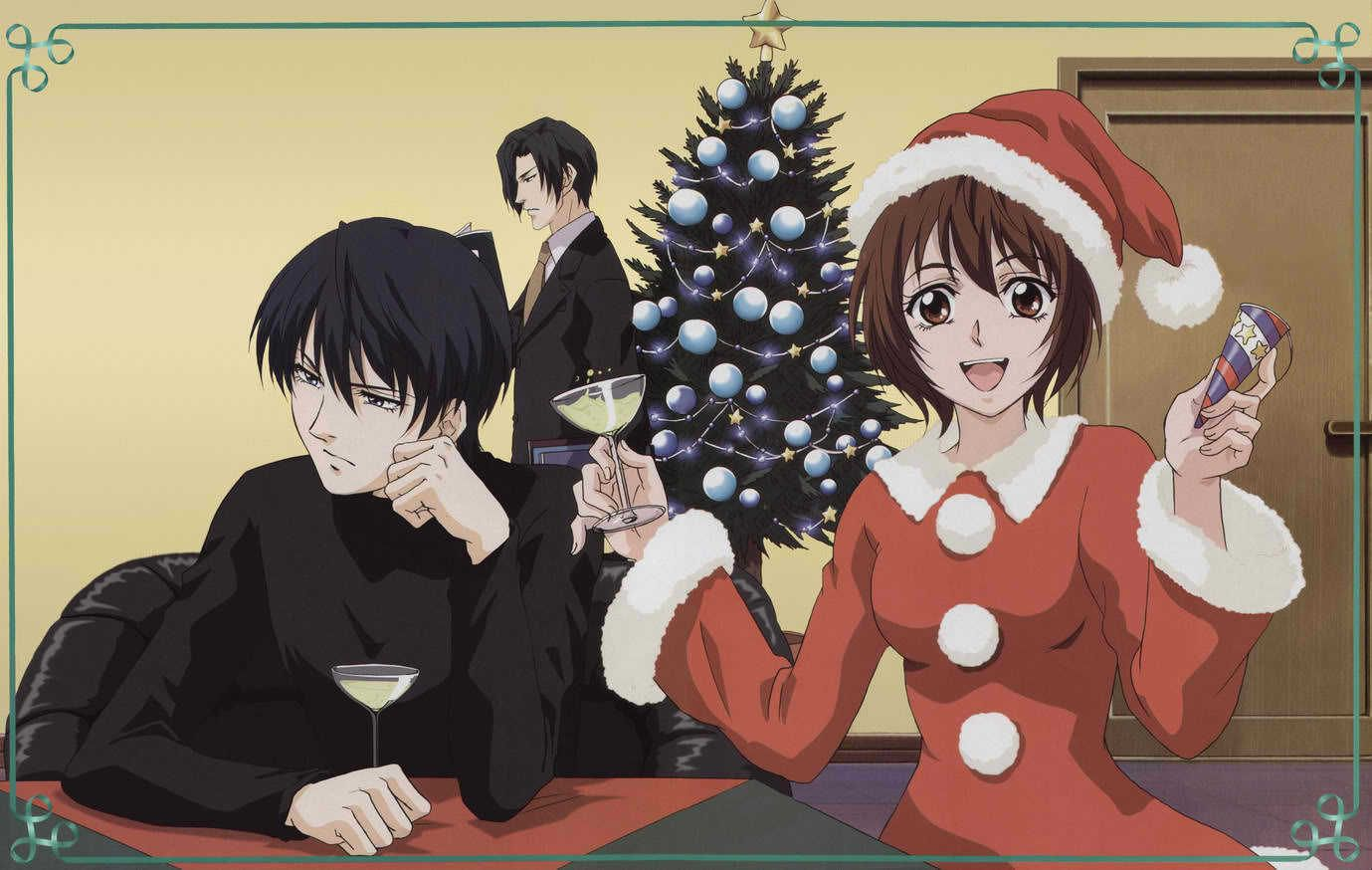 Christmas ghost hunt anime anime christmas ghost hunting