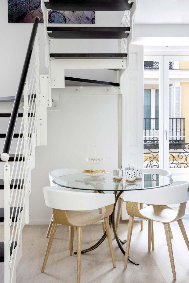 Un Petit Duplex Espagnol Design Planete Deco A Homes World Home Deco Home Room Pictures