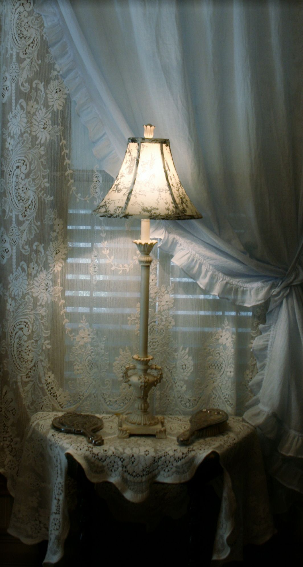 Scottish Lace And Simply Shabby Chic Curtains Home Sweet Home Pinterest Shabby Chic