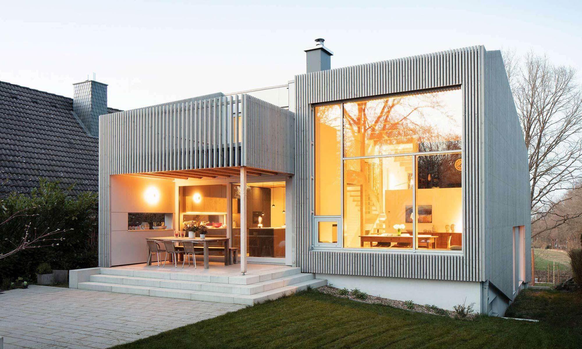 Privatsphäre trotz offener Räume So schafft das Split Level Haus ein modernes Eigenheim