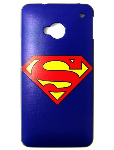 Superman Hero Icon Logo Symbol Hard Case Cover For Htc One M7screen