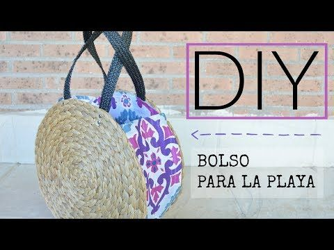 DIY BOLSO PLAYA FÁCIL, SIN MÁQUINA   Lorena Gil YouTube