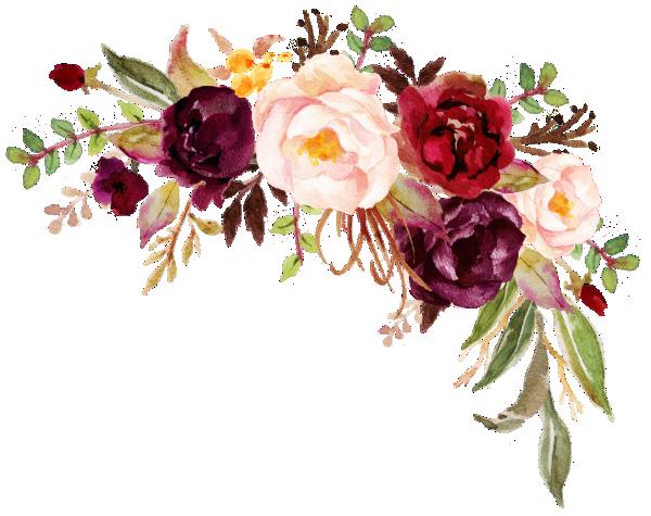 Invitación Oro Quinceanera floral elegante