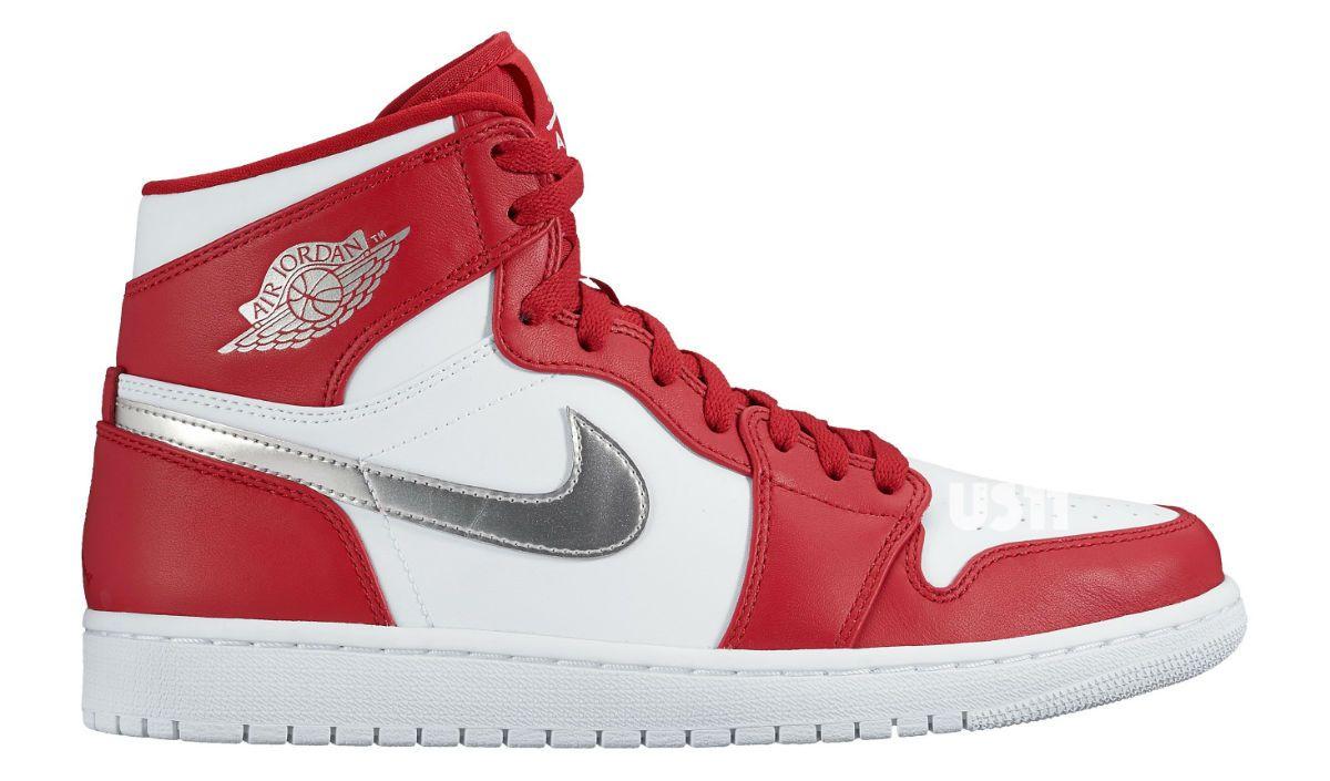 Metallic' Air Jordan 1s Are Releasing