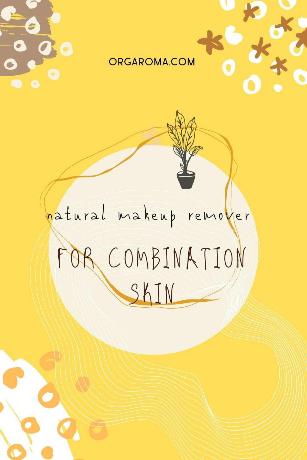 Jojoba oil + Witch Hazel natural makeup remover for