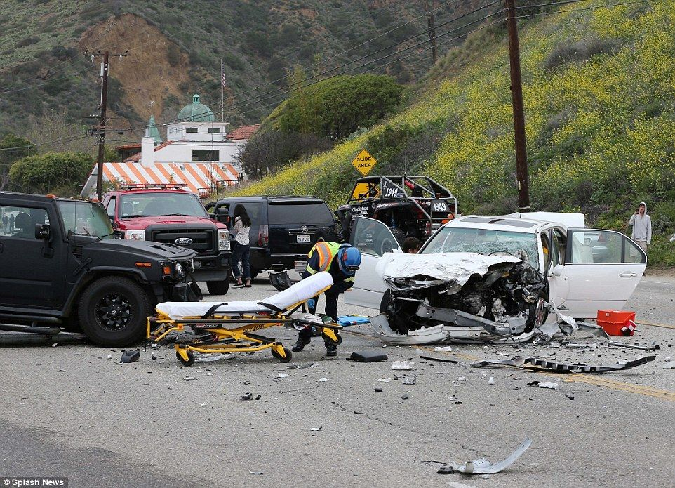 Horrific: Bruce Jenner was involved in a fatal car accident that killed one person on Satu...