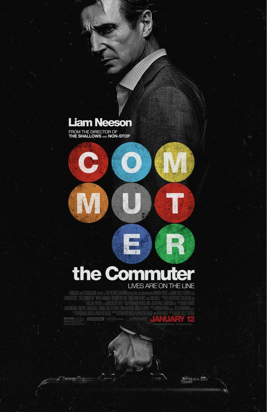 Thecommuter Trailer Oficial Estrelando Liam Neeson Vera