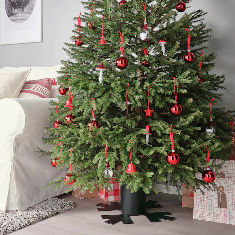 Vinterfest Stojak Na Choinke Metal Czarny Ikea Christmas Tree Stand Christmas Tree Tree Stand