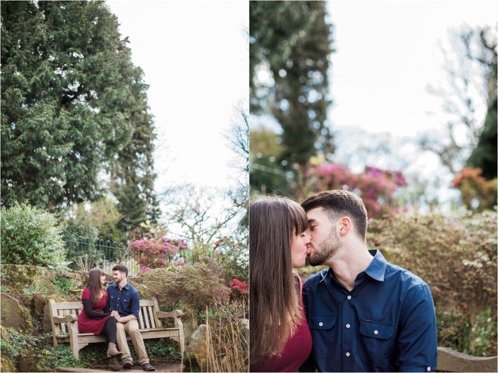 Sophie Evans Photography, Alice & Nathanael Botanical Gardens Engagement Shoot.